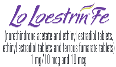 Lo Loestrin Fe (norethindrone acetate & ethinyl estradiol tablets, ethinyl estradiol tablets & ferrous fumarate tablets)
